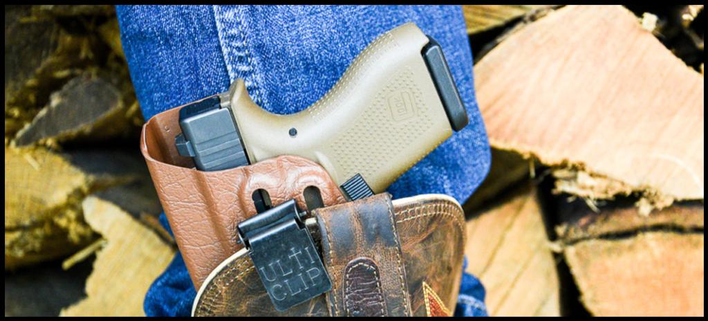 Glock 42 in boot