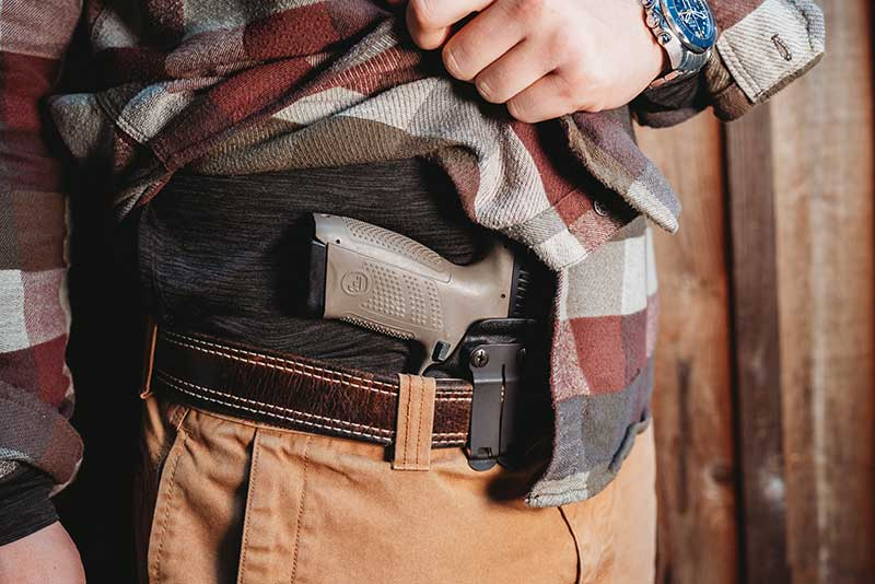 Singleton Concealed Carry Holster