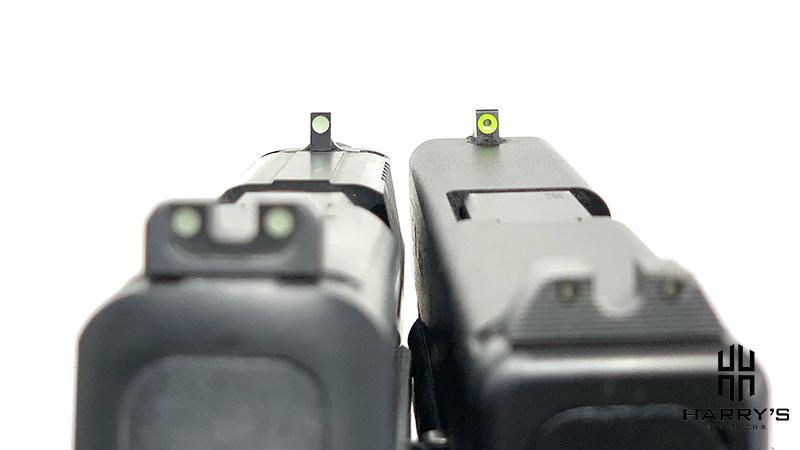 FN 509 vs Glock 19 (sights)