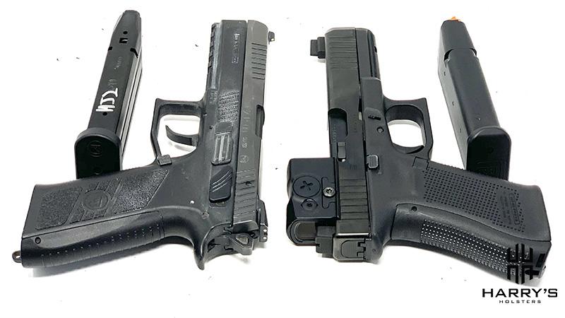 CZ P09 vs Glock 17 T Magazines