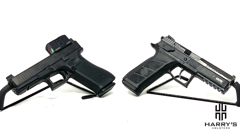 CZ P09 vs Glock 17 back to back