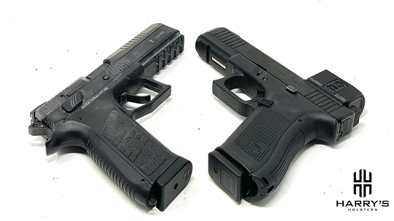 CZ P09 vs Glock 17 underbelly