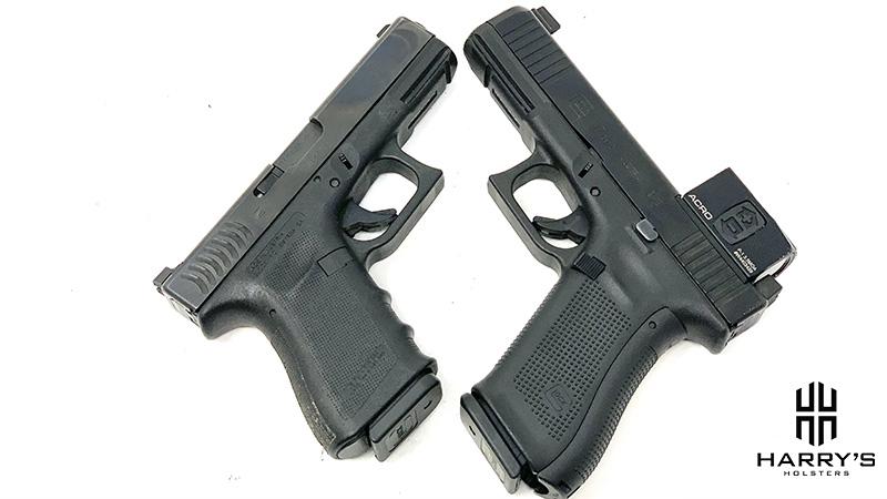 Glock 17 vs Glock 19 X