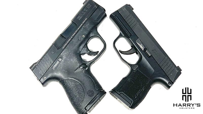 Sig P365 vs SW Shield X