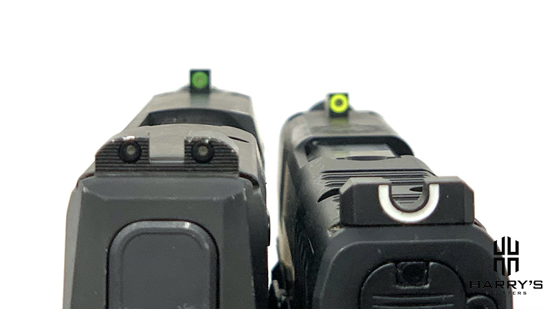 Sig P365 vs Springfield Hellcat sights