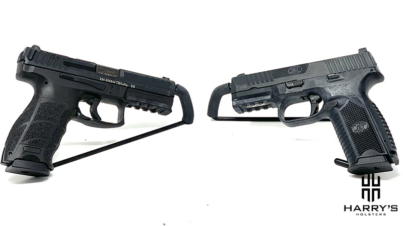 FN 509 vs HK VP9 facing