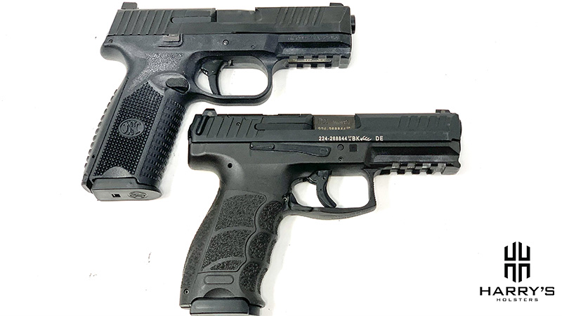 FN 509 vs HK VP9 top