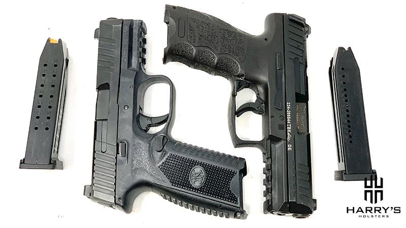 FN 509 vs HK VP9 with magazines