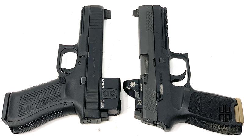 Glock 17 vs Sig P320 T