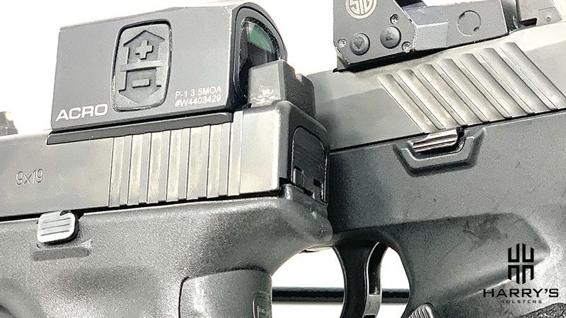 Glock 17 vs Sig P320 controls