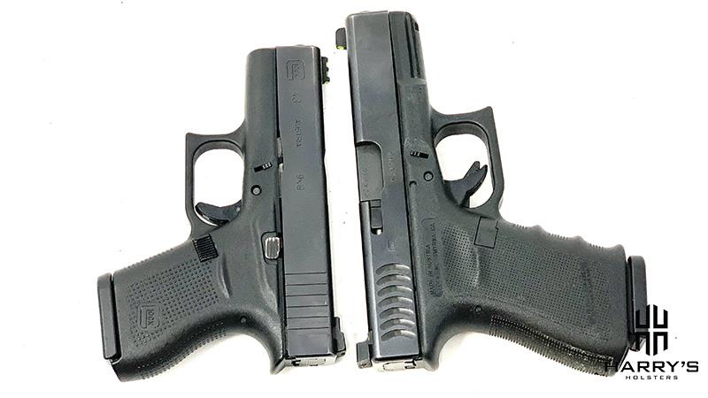 Glock 19 vs Glock 43 T