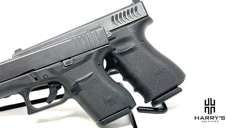 Glock 19 vs Glock 43 grip