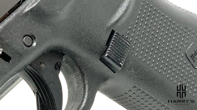 Glock 19 vs Glock 43 magazine release