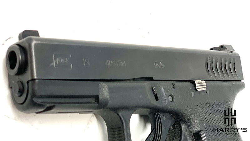 Glock 19 vs Glock 48 19 slide