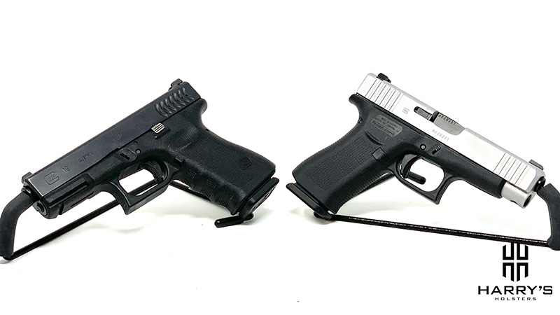 Glock 19 vs Glock 48 facing away