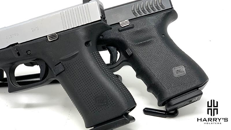 Glock 19 vs Glock 48 grips