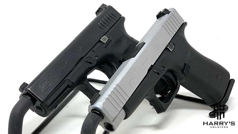 Glock 19 vs Glock 48 side by side