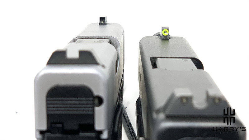 Glock 19 vs Glock 48 sights