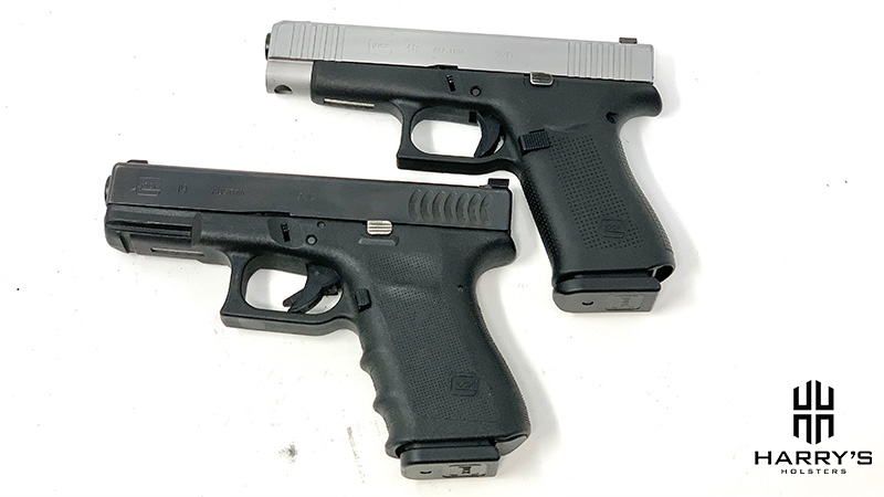 Glock 19 vs Glock 48 top