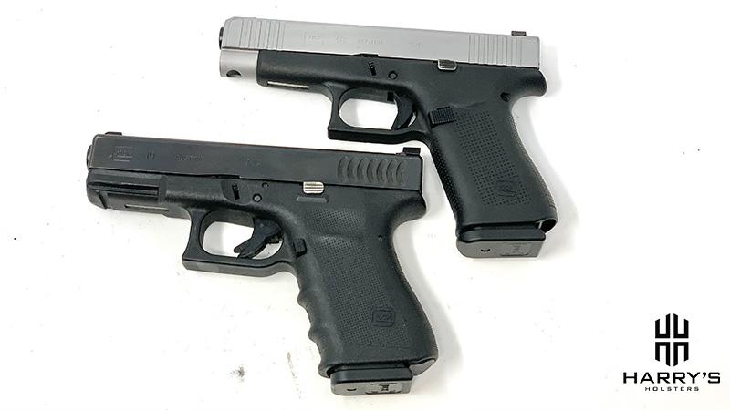 Glock 19 vs Glock 48 top
