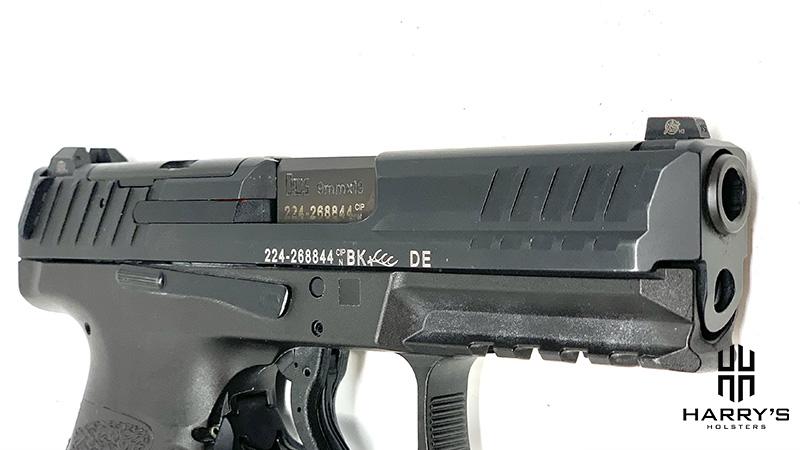 Glock 19 vs HK VP9 slide