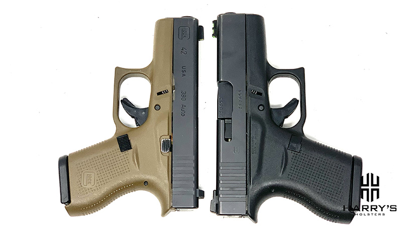 Glock 42 vs Glock 43 T