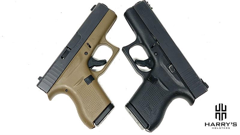 Glock 42 vs Glock 43 X