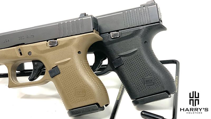Glock 42 vs Glock 43 grips