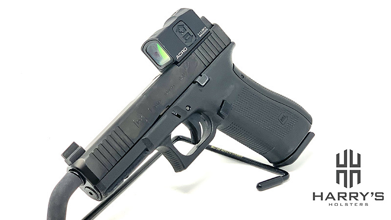 Glock 17 Gen 5 MOS Aimpoint Acro Left Front
