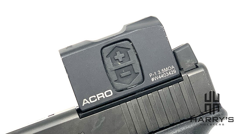 Glock 17 Gen 5 MOS Aimpoint Acro Optic Siide