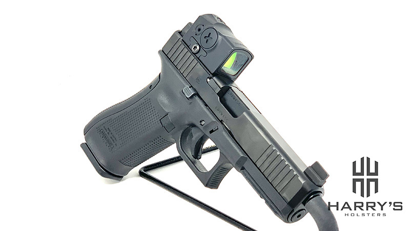 Glock 17 Gen 5 MOS Aimpoint Acro Right Front