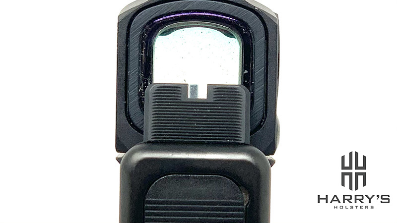 Glock 17 Gen 5 MOS Aimpoint Acro Sight Picture