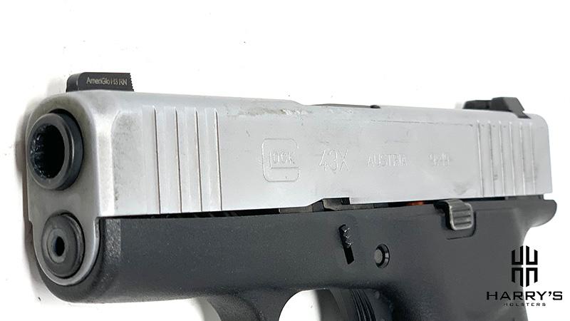 Glock 43 vs Glock 43x slide