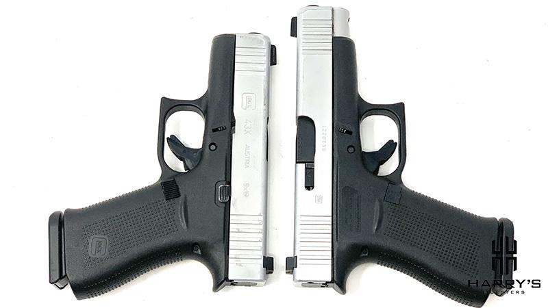 Glock 43x vs Glock 48 T