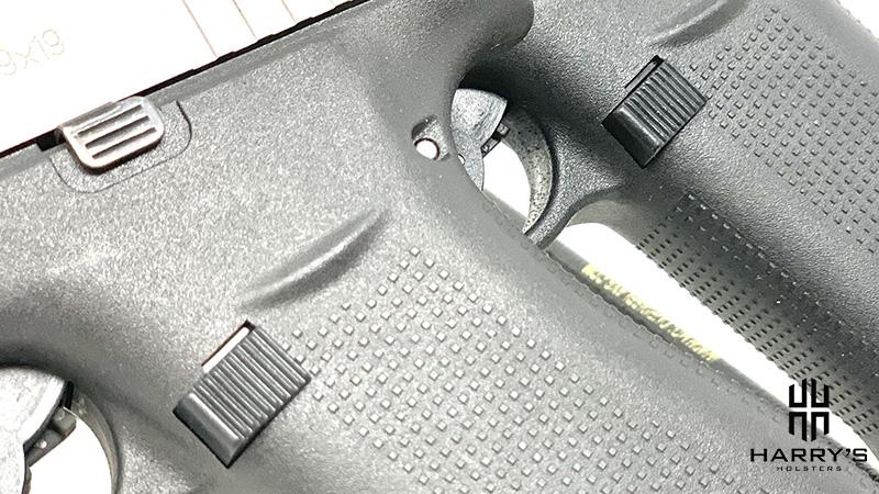 Glock 43x vs Glock 48 magazine releases