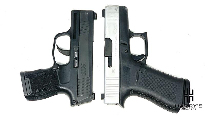 Glock 43x vs Sig P365 T