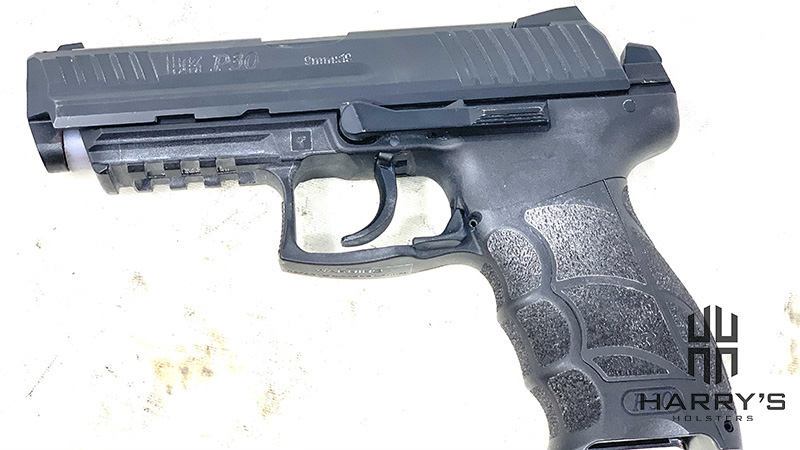 HK P30 Slide Partially Off
