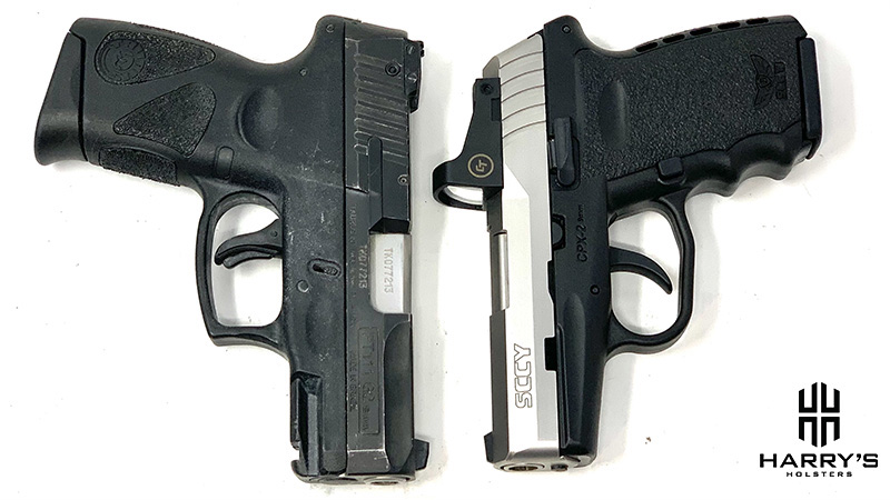 Sccy CPX2 vs Taurus G2 03