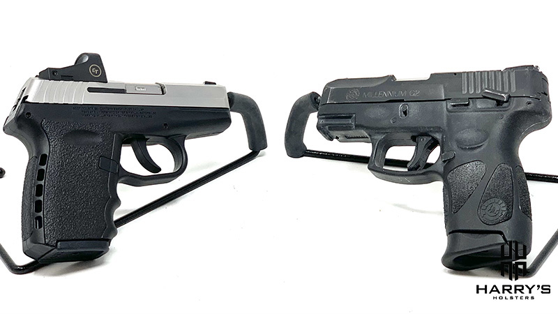 Sccy CPX2 vs Taurus G2 08