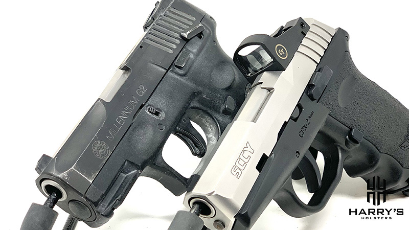 Sccy CPX2 vs Taurus G2 09