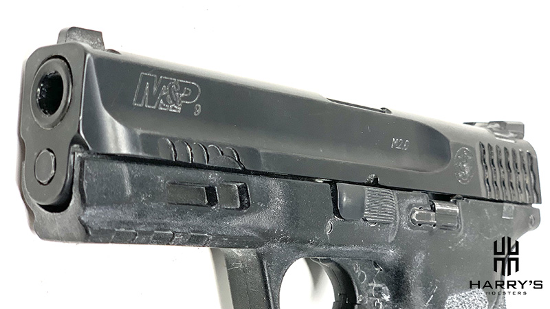 Glock 19 vs SW M_P 2.0 Compact SW Slide