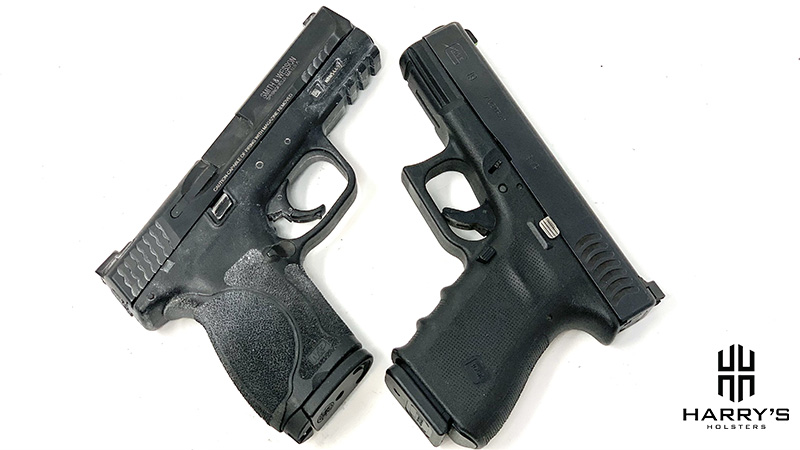 Glock 19 vs SW M_P 2.0 Compact X