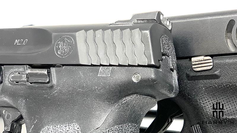 Glock 19 vs SW M_P 2.0 Compact controls