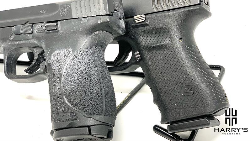 Glock 19 vs SW M_P 2.0 Compact grips
