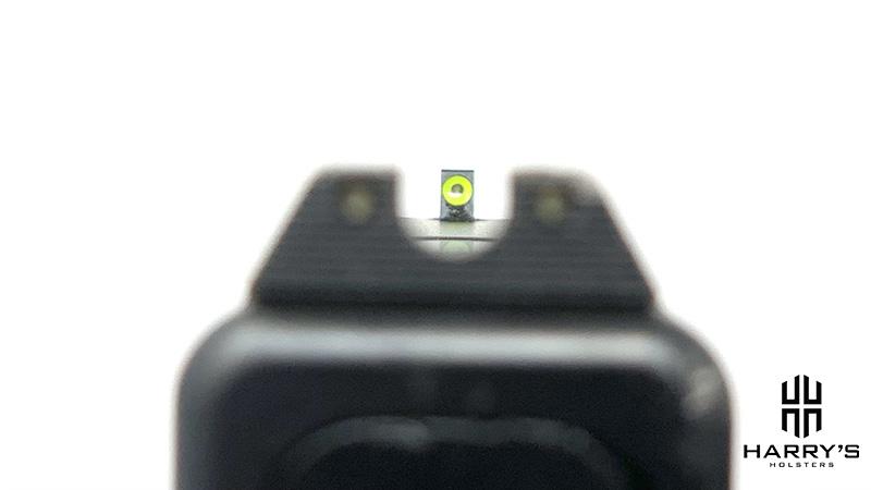 Glock 19 vs SW Shield glock sight