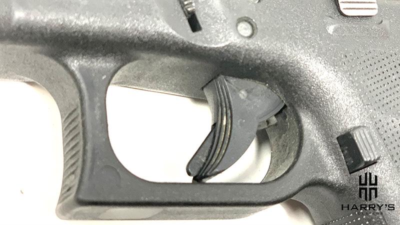 Glock 19 vs SW Shield glock trigger