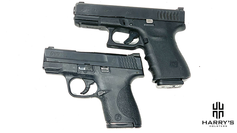 Glock 19 vs SW Shield top