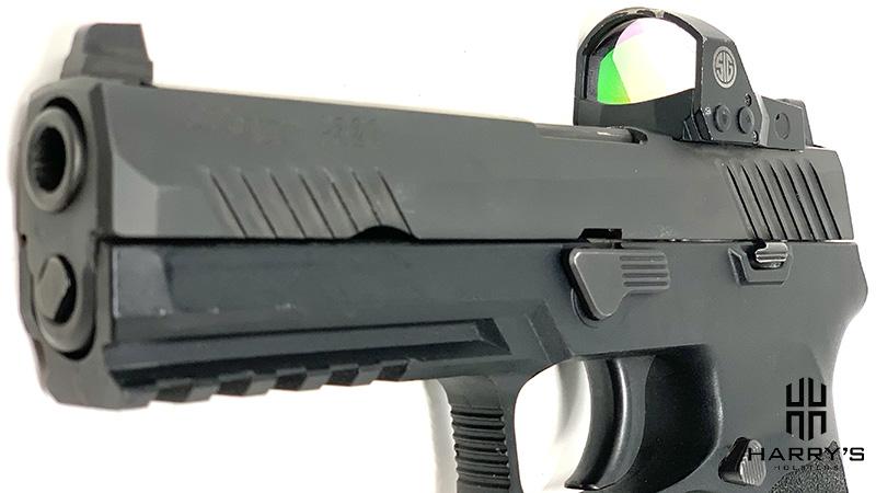 Glock 19 vs Sig P320 Slide