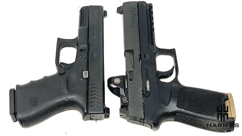 Glock 19 vs Sig P320 T
