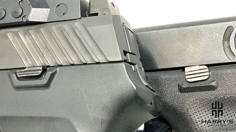 Glock 19 vs Sig P320 controls